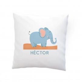 Cojín personalizado elefante