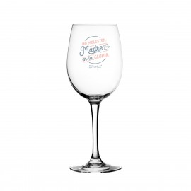 Copa de vino Madre en la gloria