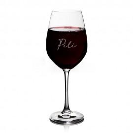 copa de vino personalizada con nombre