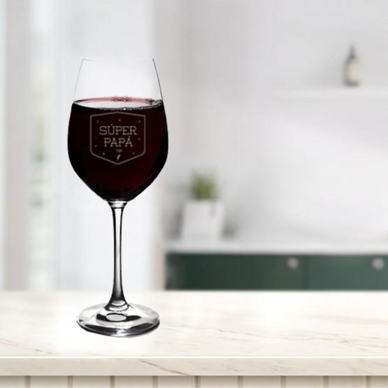 copa vino papa personalizada