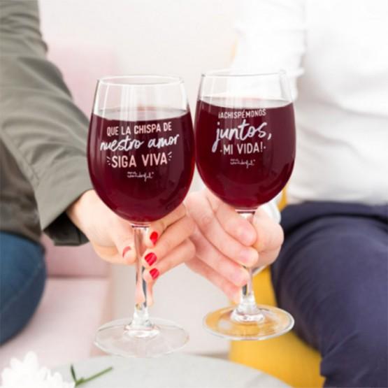 copas de vino para tu novio o novia