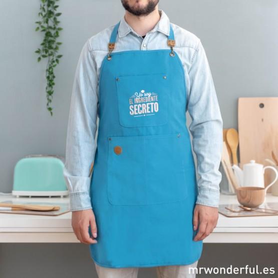 Delantal Mr Wondeful 'Yo soy el ingrediente secreto'