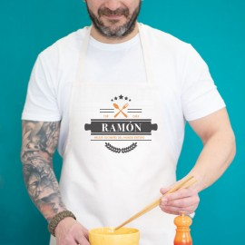Delantal personalizado chef