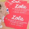 etiquetas para detalles de primera comunion