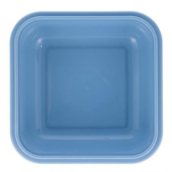 fiambrera para niños azul