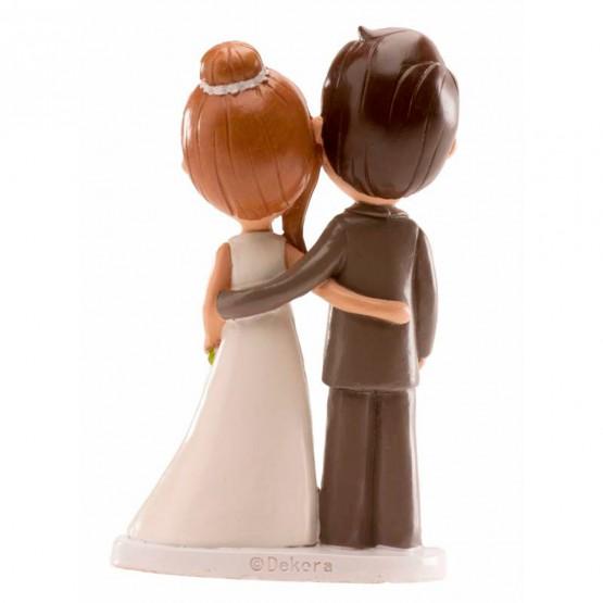 muñecos tarta boda