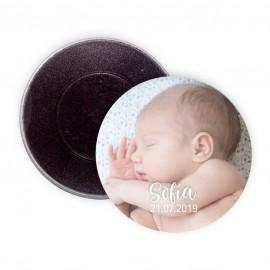 Imán personalizado bebé