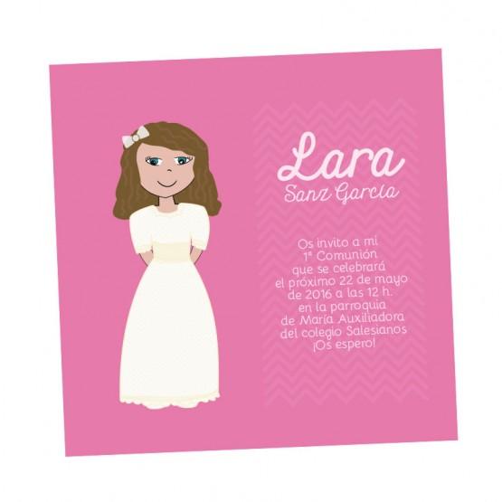 tarjeta de primera comunion