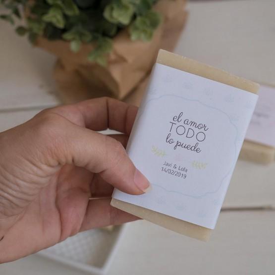 Jabón artesanal boda