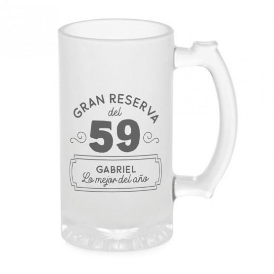 Jarra cerveza gran reserva