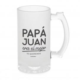 jarra de cerveza personalizada papa