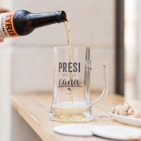 jarra cerveza presidente