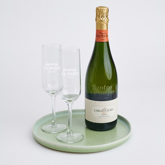 copas champán personalizadas