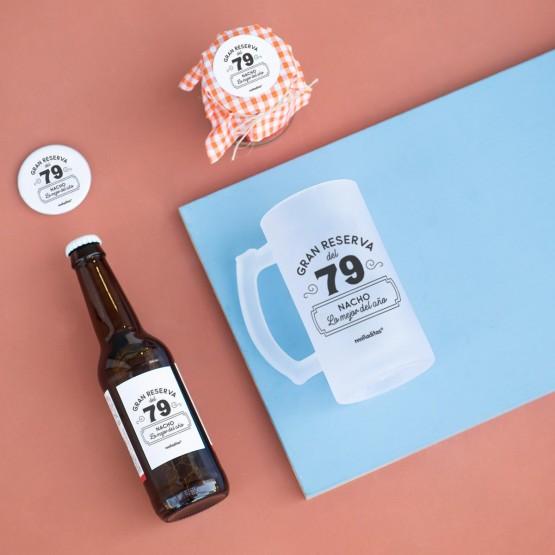 kit cerveza personalizada con mensaje