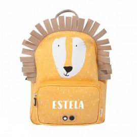 mochila escolar león