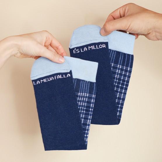 calcetines pañuelo cuadros