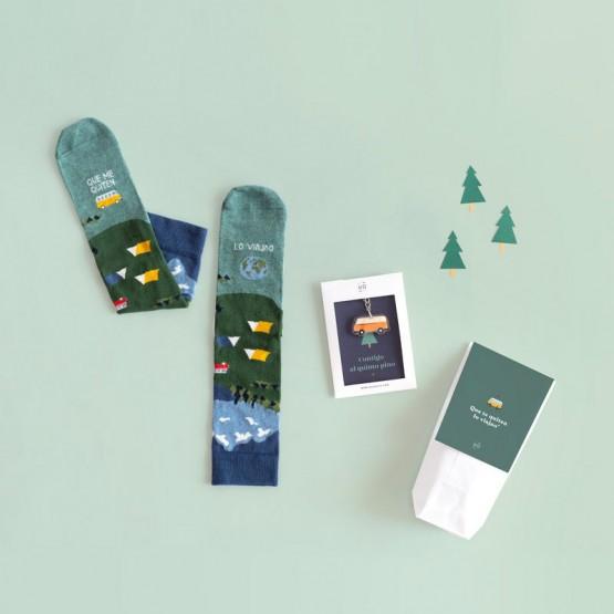 kit regalo para  viajeros