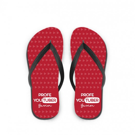 chanclas profe youtuber