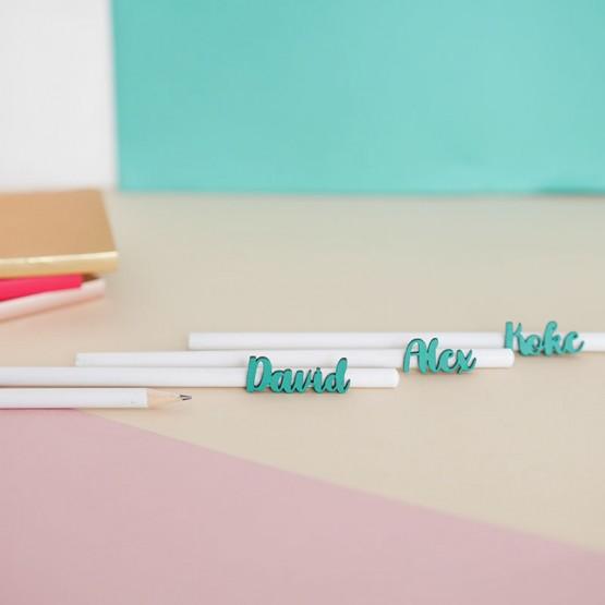 lápices personalizados colores