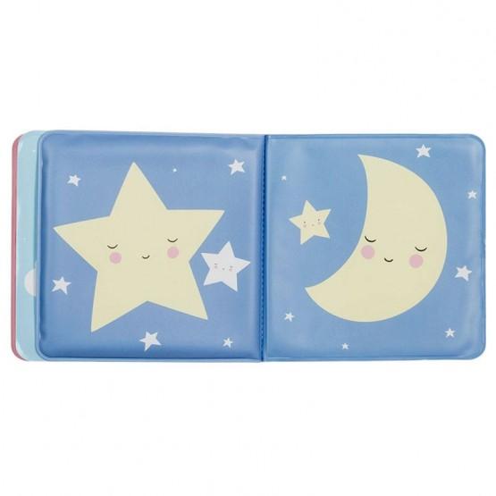 libro bebe luna y estrellas