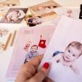 fotos y recuerdos del bebe