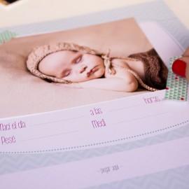 libro de recuerdos bebe para rellenar
