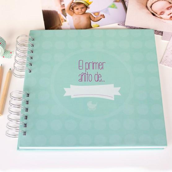 libro para los recuerdos del bebe