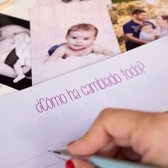libro para rellenar para el bebe