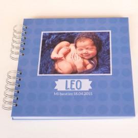 Libro bautizo personalizado