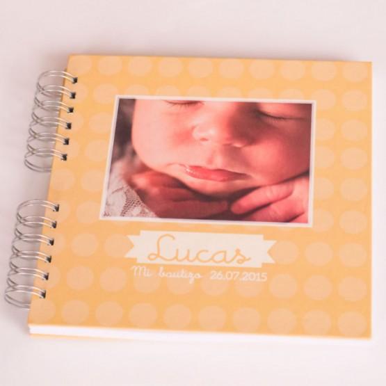 libro personalizado para bautizo