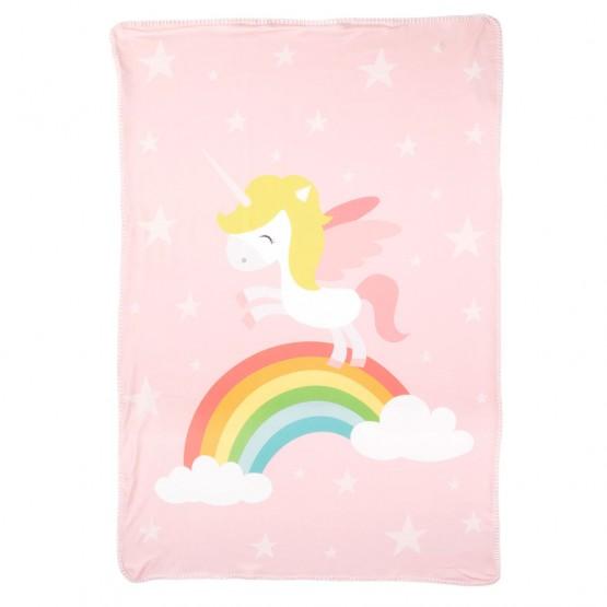 mantita unicornio bebé