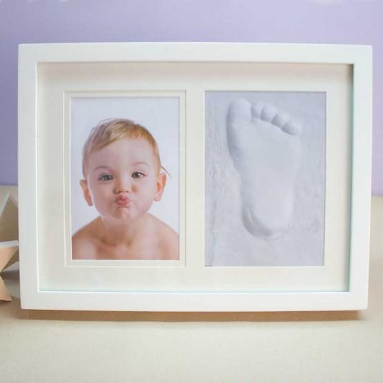 marco para huella del bebe