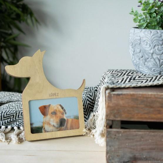 marco fotos mascota personalizado