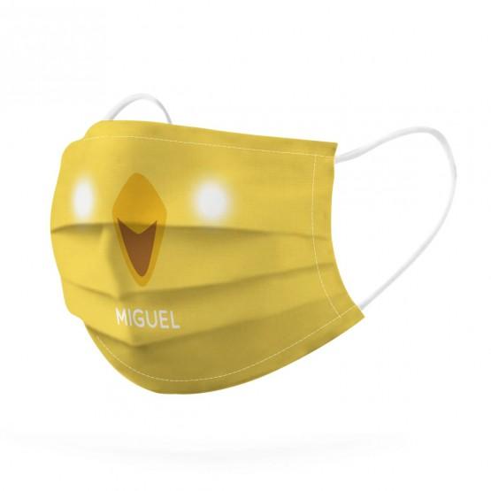 mascarilla de tela reutilizable para niños personalizada