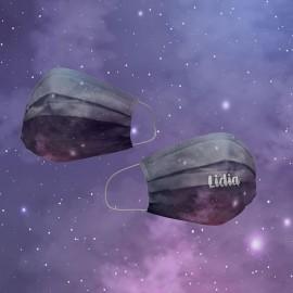 Mascarilla espacio estelar