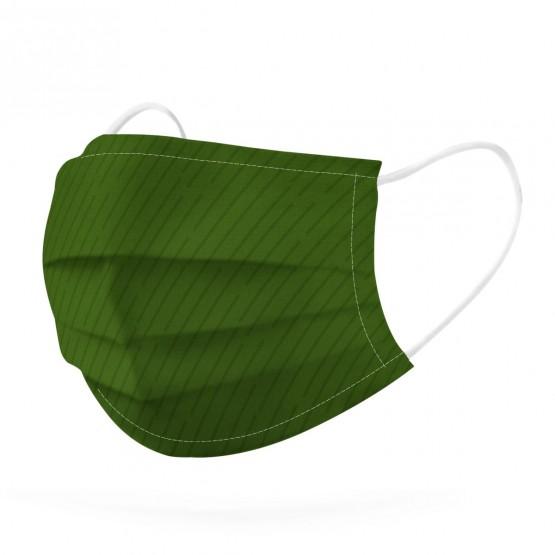 mascarilla verde medio