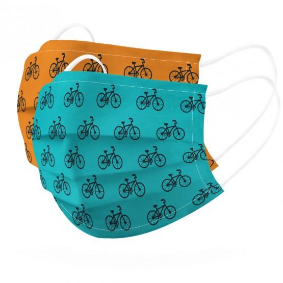 mascarilla bicicletas