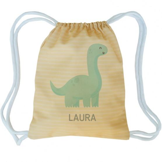 Mochila saco dinosaurio