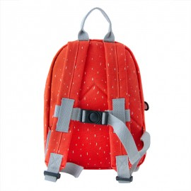 trasera mochila escolar