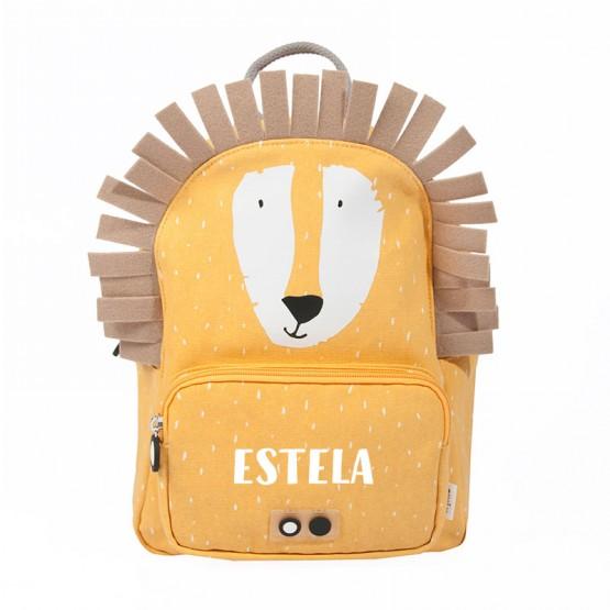 mochila infantil león