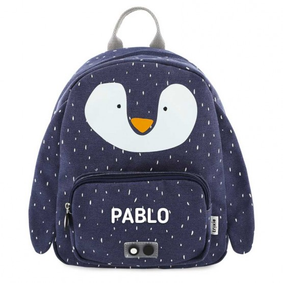 mochila escolar pinguino