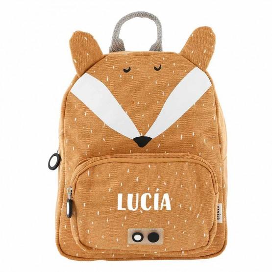 mochila zorro personalizada