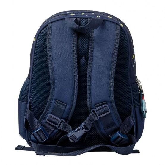 mochila azul para el cole