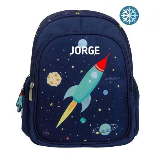 mochila infantil espacio