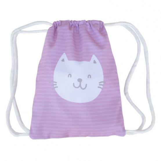 Mochila saco gato