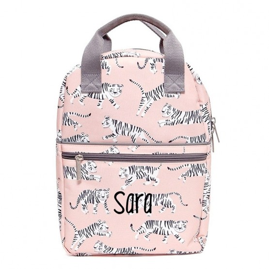 mochila rosa escuela infantil