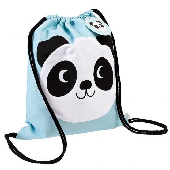 mochila panda guarderia