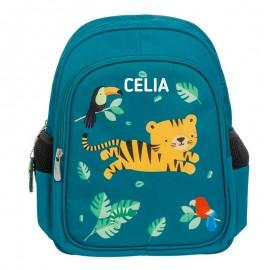 mochila guardería jungla personalizada