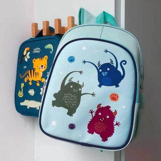 mochila infantil mosntruos