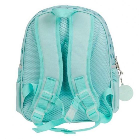 mochila con cierre de seguridad